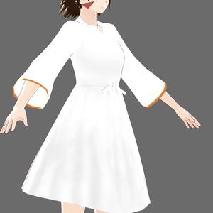 Vroid 女性キャラ向け 陰影テクスチャセット (ワンピース用/透過済み肌テクスチャー付)