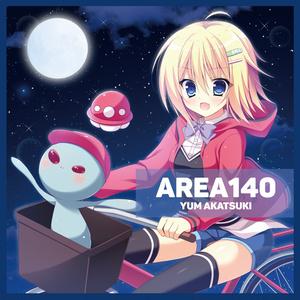 赤月ゆむ1st mini album「AREA140」