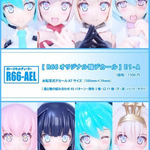 [R66オリジナル瞳デカール] E1-A