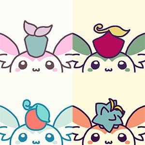 【予約】リミミン缶バッチ4つセット
