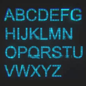 【uGUI用Shader】CYBER_SIGNAL ver1.0
