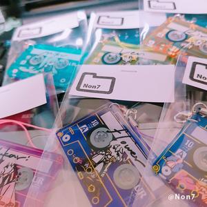 CassetteTape×vocaloid strap