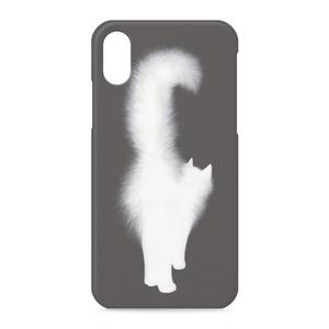 白猫ーiPhoneケース