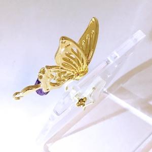 【オリジナル】蝶のイヤーアクセサリー