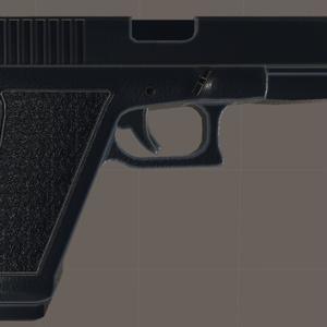 VRC向け拳銃モデル「T-17」