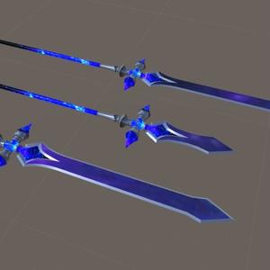 VRC向け武器モデル「サジタリウス」