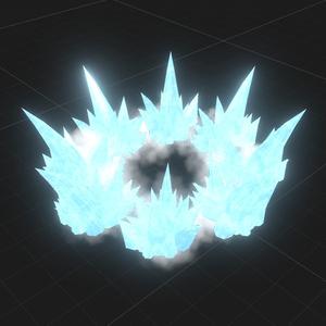 crystal region