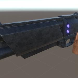 縦二連弾倉回転式散弾銃「GARM_12」