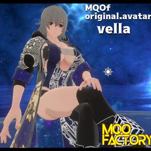 MQOfオリジナルアバター「vella(ベラ)」