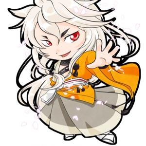 刀剣乱舞 小狐丸アクリルキーホルダー