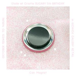 Birthday Icecream缶マグネット