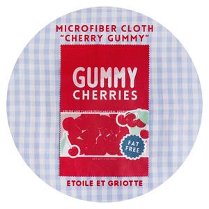 Cherry Gummyマイクロファイバークロス