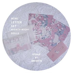 Nighty-Night Dollsミニレターセット