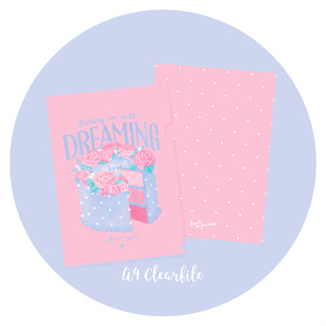 DREAMING about you A4クリアファイル