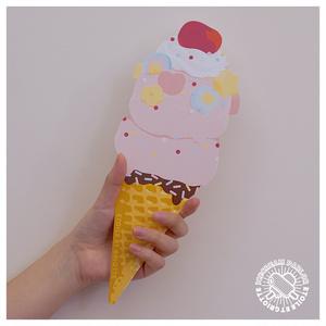 アイスクリームBIGカード(4種)