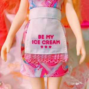 BE MY ICECREAM 1/6 Doll Dress set