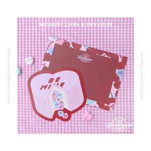 BE MINE CAKE封筒つきカード
