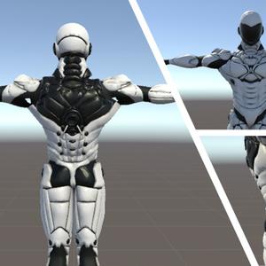 オリジナル3Dモデル『パワードスーツ』