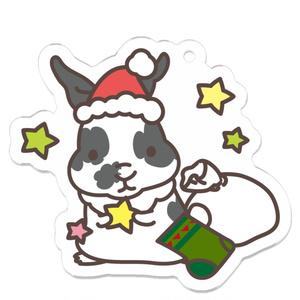 ★うさぎさんのクリスマスキーホルダー★