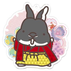 成人式!!やんちゃうさぎの羽織袴コーデアクキー!