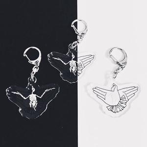 レントゲンキーホルダー 手遊びの鳥