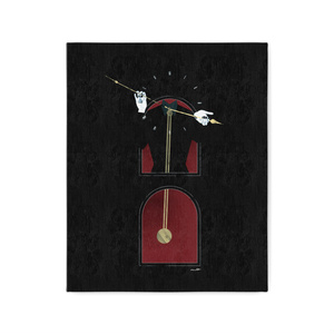 pendulum clock man   キャンバスアート