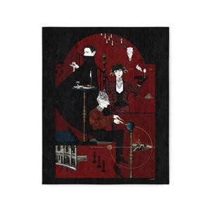 赤の食卓 キャンバスアート