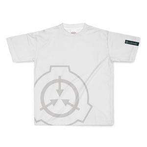 【SCP】財団ロゴTシャツ/フル印刷