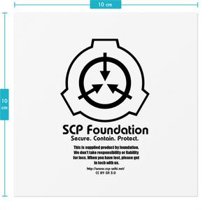 【SCP】何でも財団支給品ステッカー