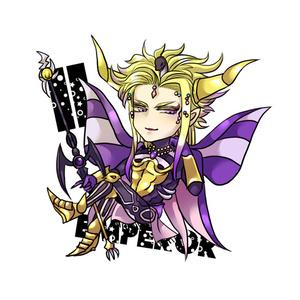 アクリルキーホルダー*皇帝