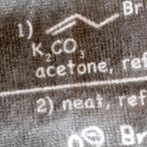 クライゼン転移反応ミニタオル