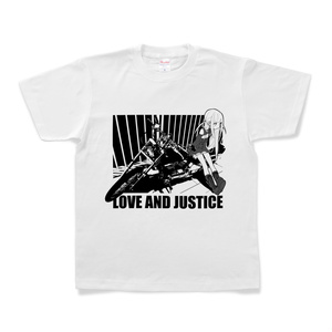 愛と正義Tシャツ