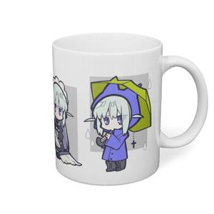 愛と正義ちゃんマグカップ