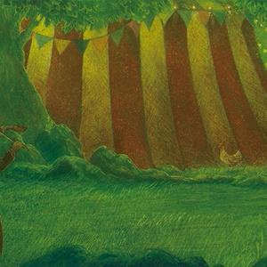 【原画】 behind the circus tent