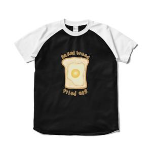 トーストのラグランTシャツ