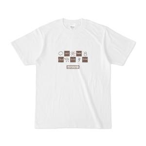 天気マークのTシャツ