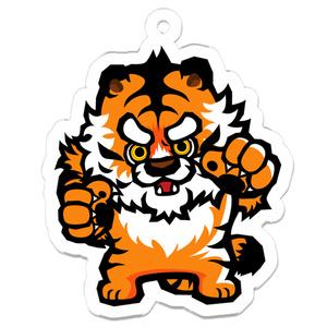 アクリルキーホルダー【虎】