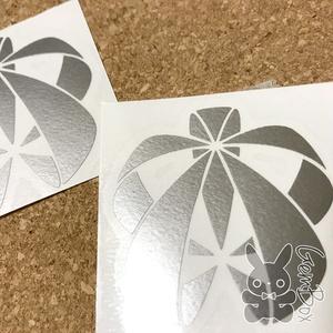 Koto裏ロゴ カッティングステッカー シルバー/S