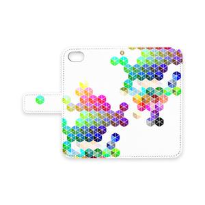 RGB Color Chart/手帳型iPhoneケース