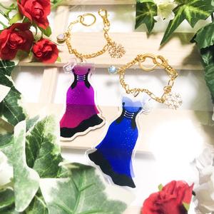 【YOI】ドレス型 衣装イメージバックチャーム