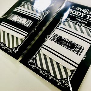 【YOI】バーコード 缶バッチ