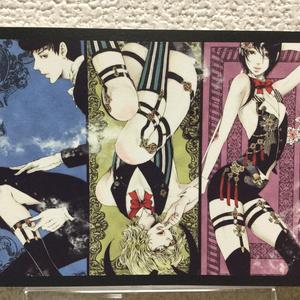 「艶漢」ポストカード【A】セット(4枚入り)