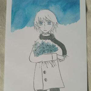葬花(ポストカード)