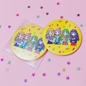 缶ミラー『OMEKASHI GIRLS』