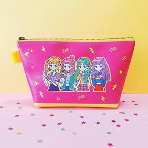 【NEW】三角ポーチ『OMEKASHI GIRLS』