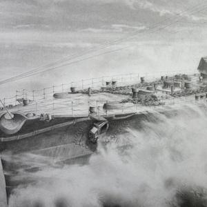 「わだつみの駿馬 -戦艦 榛名 2604-」