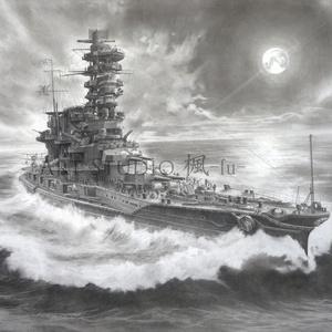 「連理の塔 -宵の山城 2604-」