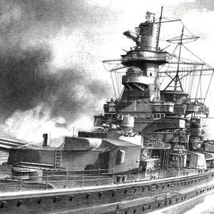 装甲艦 アドミラル・グラーフ・シュペー(KM Panzerschiff Admiral Graf Spee)