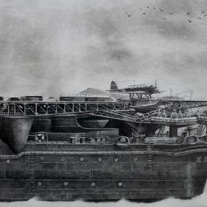 惜別の刻-戦艦 大和 2605-(The reluctant parting -Battleship Yamato 2605-)