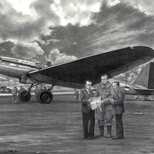 航空研究所 試作長距離機 2598
